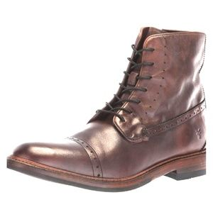 Frye Murray lace up boots sz 9.5